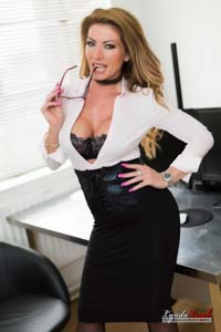 Lynda Leigh Milf Office